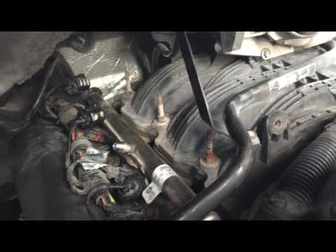 How to replace spark plugs and ignition coils on 2005 dodge durango 3.7 liter v6