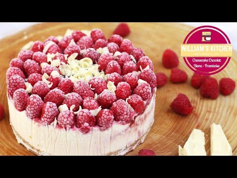 cheesecake-chocolat-blanc---framboise-(sans-cuisson)-|-william's-kitchen