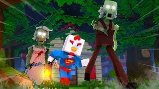 minecraft finale will they set me free? granny in minecraft 7
