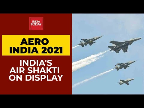 Aero India 2021 Begins; Rafale, Sukhoi, Tejas & Other Fighter Jets Roar In Bengaluru's Air