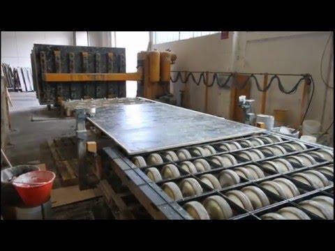 Resin line for marble and granite
