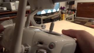 My Favorite  Phantom 4 Pro indoor flights settings Video#2
