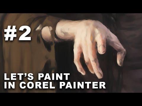 TWIN VICTIM - Part 2 - Let's Test Corel Painter 2017