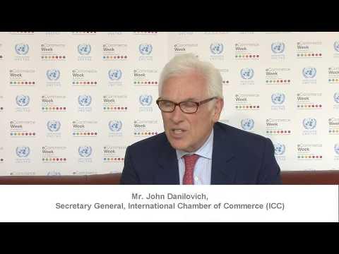 John Danilovich, Secretary General, International Chamber of Commerce (ICC)