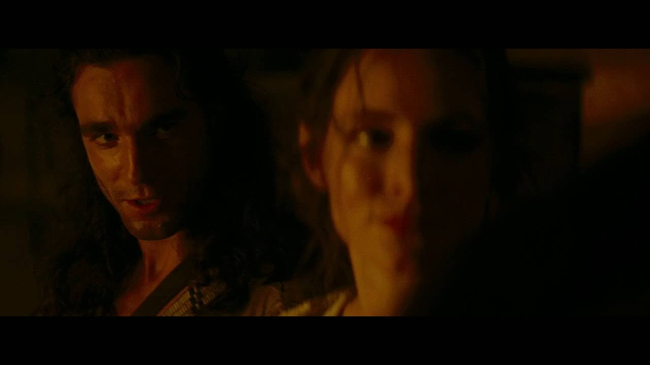 The Last of the Mohicans Daniel Day Lewis Flert - YouTube