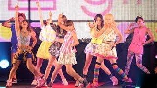 10月18日 ミュージックステーションにEXILEの妹分E-girlsが初出演し、映...