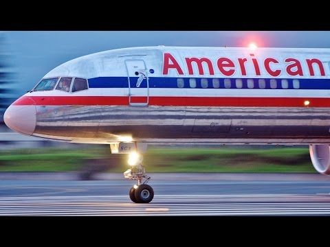American Airlines Boeing 757 Plane Crash Mid-Flight Surprise