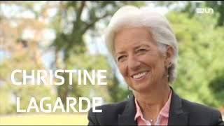 L'interview de Christine Lagarde