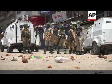 Clashes in Indian administered Kashmir