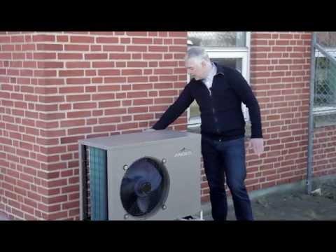 Varmepumpe luft-til-vand - YouTube