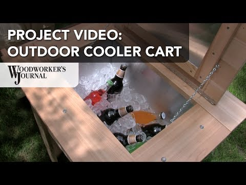 Backyard Cooler Cart Project | DIY Project Plan