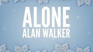 Video Alan Walker - Alone (Lyrics) download MP3, 3GP, MP4, WEBM, AVI, FLV Desember 2017