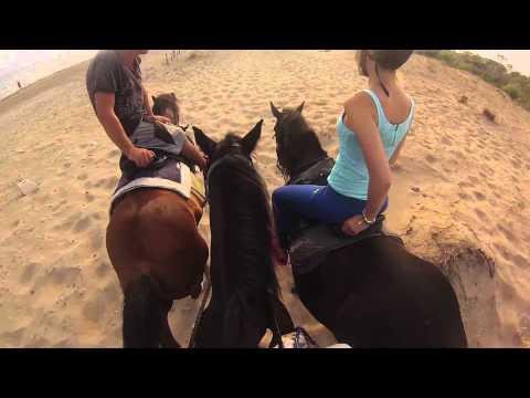 Horse riding in Laganas - Zakynthos holiday - 06.09.2015