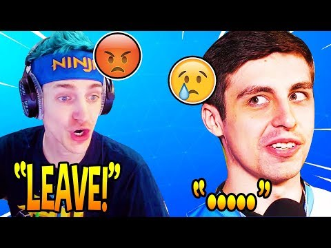 NINJA YELLS AT SHROUD FOR SWEARING ON HIS STREAM! LOSES 20K VIEWERS! *TRIGGERED* (Fortnite Moments)