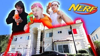 NERF Fortnite in a MANSION | (Hunger Games)