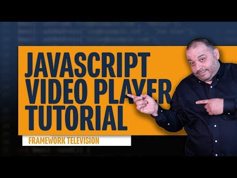 Javascript Video Player Tutorial | Make A Video Player With HTML5 And JavaScript