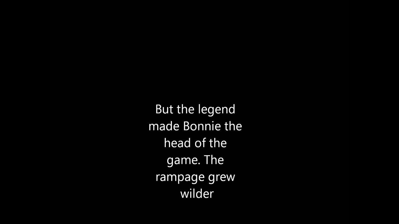 Bonnie And Clyde Lyrics - YouTube