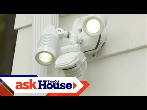 All About Lights How To Install A Motion Activated