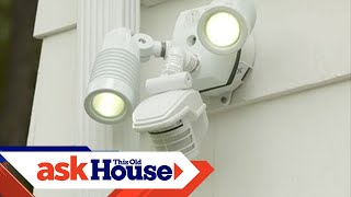 How to Install a Motion-Activated Security Light