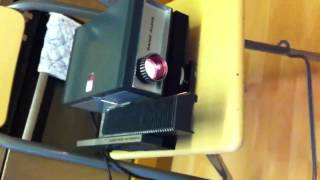 Rank aldis 2000 slide projector