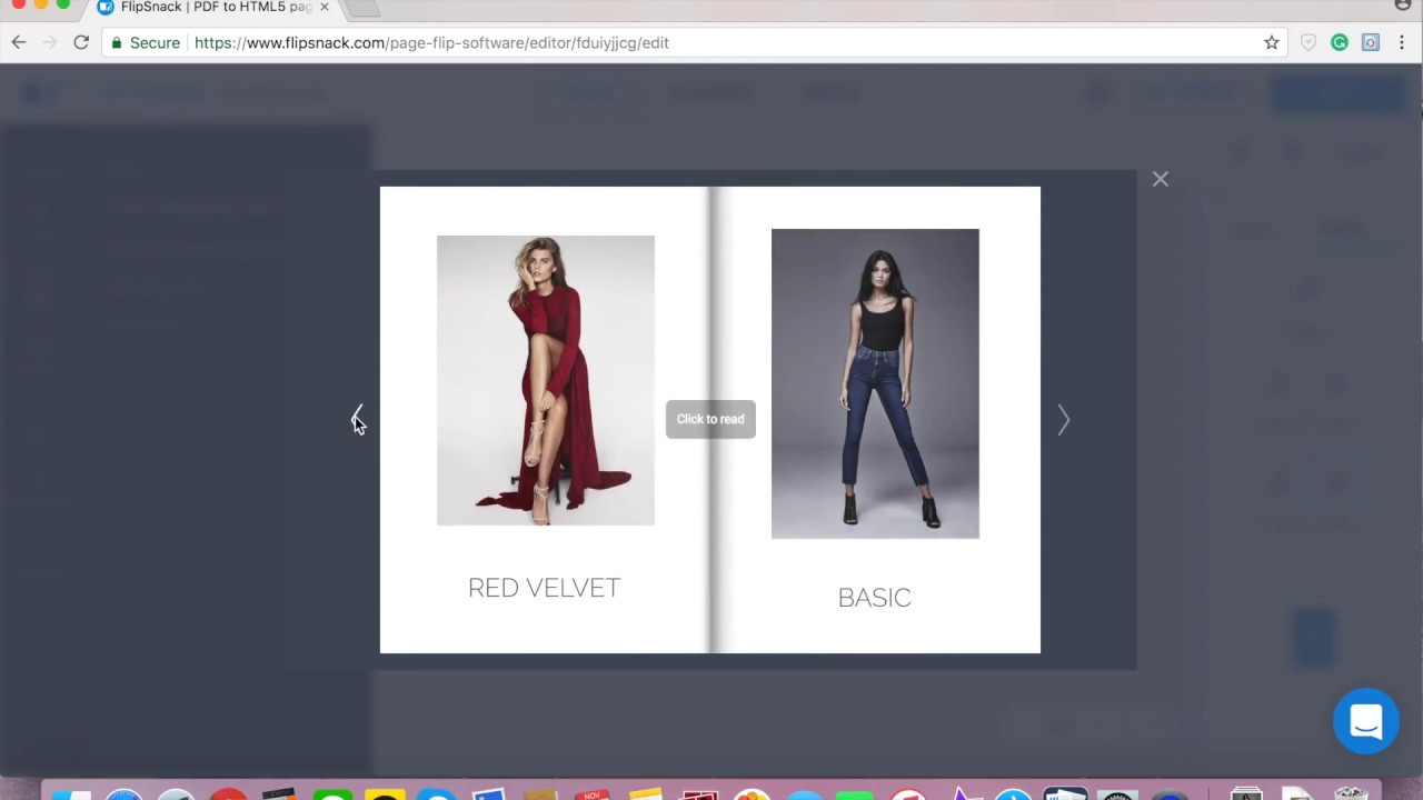 How To Make A Fashion Lookbook Online Youtube