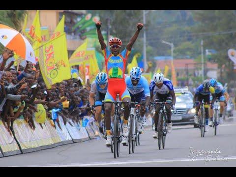 Eritrean Biniam Girmay Hailu win stage 5 of TOUR DU RWANDA 2019: KARONGI -  MUSANZE: