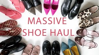 MASSIVE DESIGNER SHOE HAUL. Покупки: ОЧЕНЬ МНОГО ОБУВИ! Chanel, Gucci, Tods,  Burberry