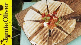 Sweet Potato Quesadillas | Dj Bbq