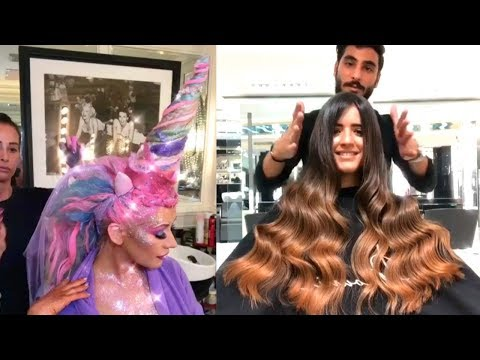 Amazing Hairstyles Compilation  Viral Makeup Videos on Instagram 2017