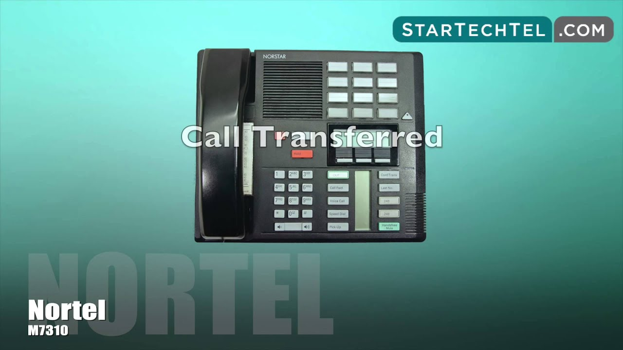How To Use Voicemail Features On The Nortel M7310 Phone