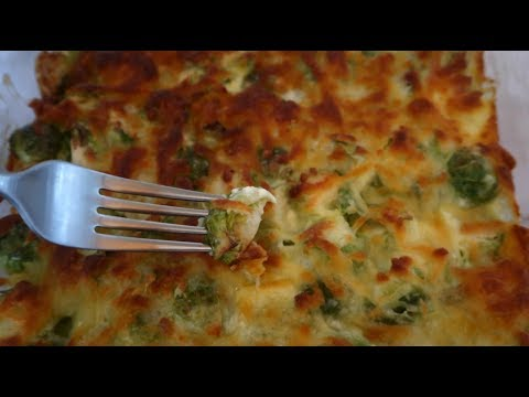 Cheesy Keto Brussels Sprouts Gratin Recipe