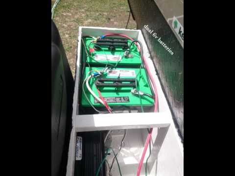 Camper Trailer Battery Wiring Diagram Diy Rv Battery Box 2016 07 03 Youtube