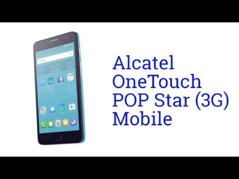 Alcatel OneTouch POP Star (3G) Mobile Specification [America]