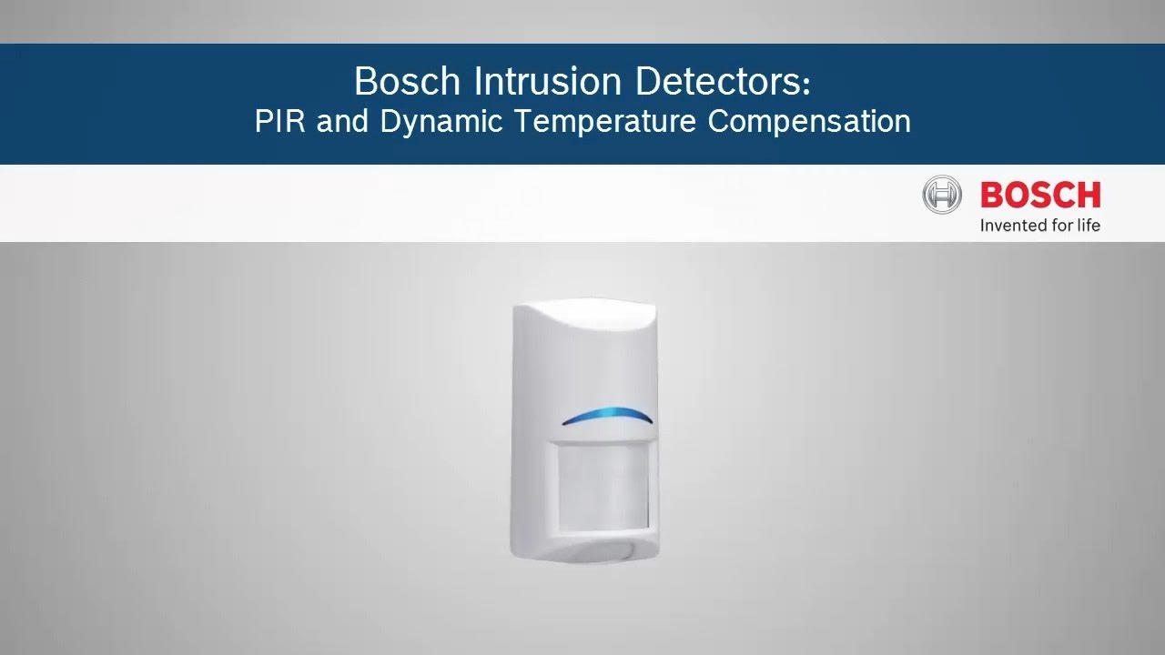 Bosch Pir Wiring Free Diagram For You Alarm Security Intrusion Detectos And Dynamic Temperature Rh Youtube Com Zx938z