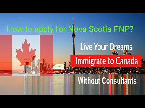Free Guide Canada Immigration how to apply for Nova Scotia P