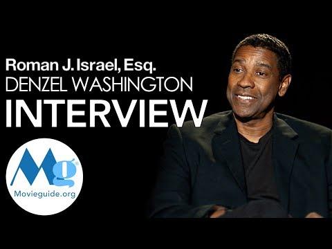 Denzel Washington Interview: Roman J. Israel, Esq.