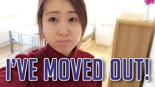 I'M MOVING OUT... Plus New Room Tour! | Apriloves