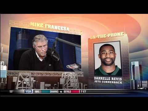 Mike Francesa interviews Darrelle Revis