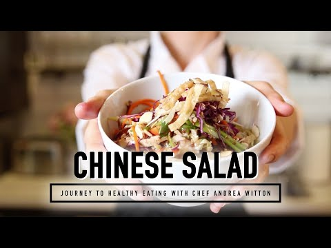 Journey To Healthy Eating | Russell's Favorite Chinese Chicken Salad