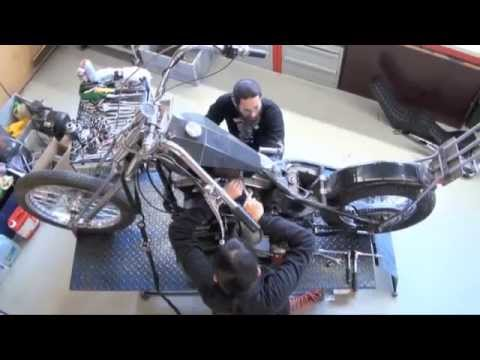 McSands Motor Shop GmbH - Build of 1956 Panhead Bobber