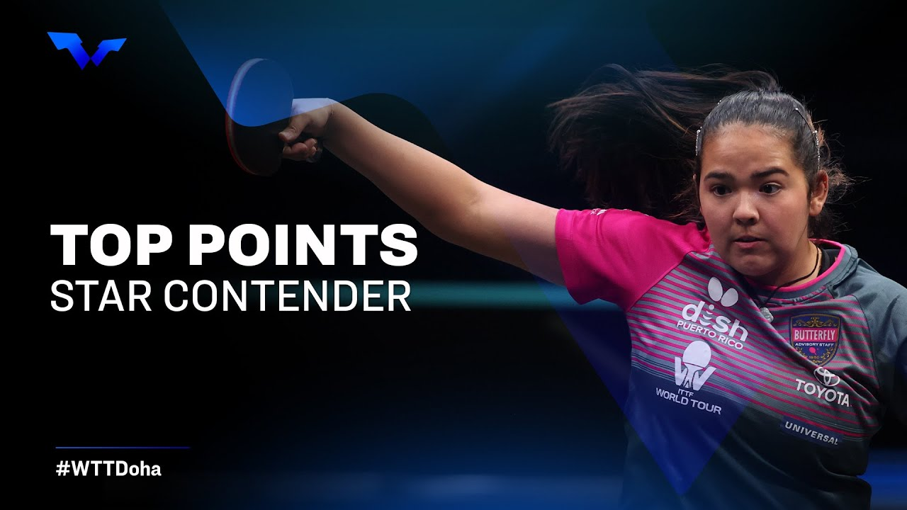 Download BEST TABLE TENNIS POINTS | WTT Star Contender Doha 2021