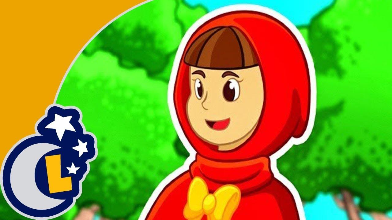 La Canción del Cuento de La Caperucita Roja y El Lobo Feroz.  Videos Para Niños . Lunacreciente