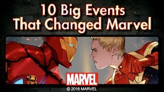 10 Events That Changed the Marvel Universe