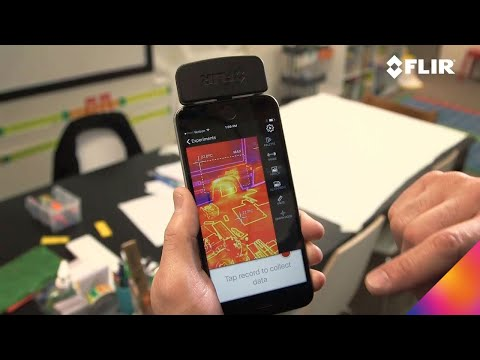 FLIR ONE Gen 3 Apps: Vernier Thermal Analysis - YouTube