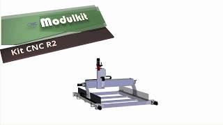 Kit CNC Router Evolution R2 By CNC Modulkit, Build Tutorial #1 English Version