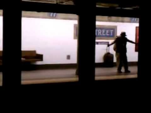 Guy Dancing By Himself on NYC Subway