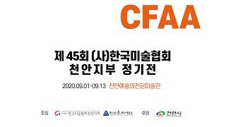 제45회 (사)한국미술협회 천안지부 정기전 영상