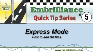 Embrilliance Quick Tip #5 - How to Install BX fonts