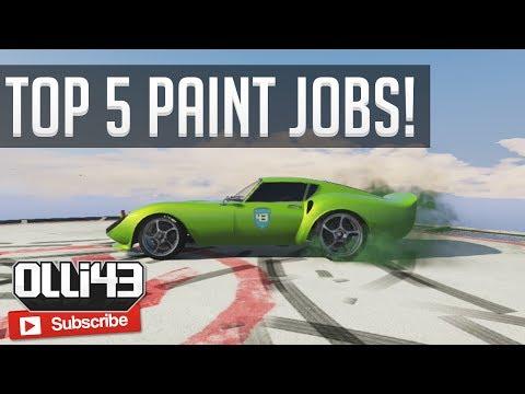 GTA 5 Online   Inferno Red Paint Job - GTA 5 Custom Paint