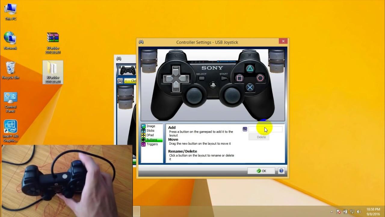 Làm thế nào để cài đặt gamepad loại thường chơi game PC